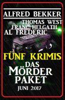 Fünf Krimis: Das Mörder-Paket