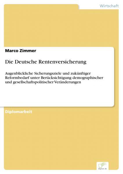 Die Deutsche Rentenversicherung