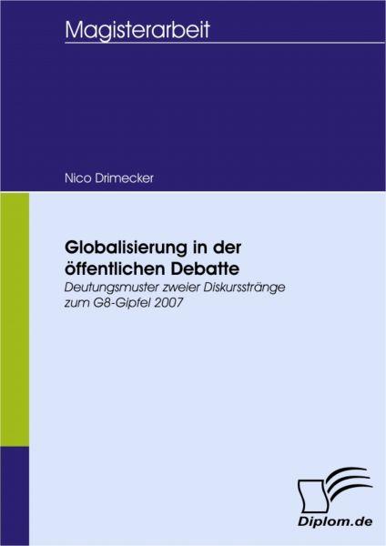 Globalisierung in der öffentlichen Debatte