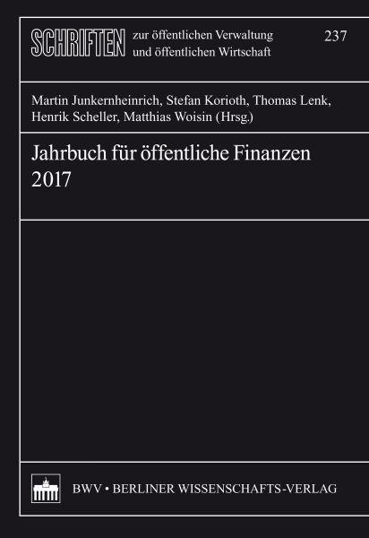 Jahrbuch für öffentliche Finanzen 2017