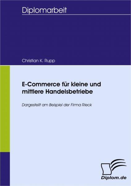 E-Commerce für kleine und mittlere Handelsbetriebe