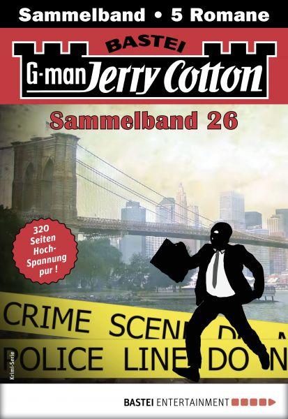 Jerry Cotton Sammelband 26 - Krimi-Serie