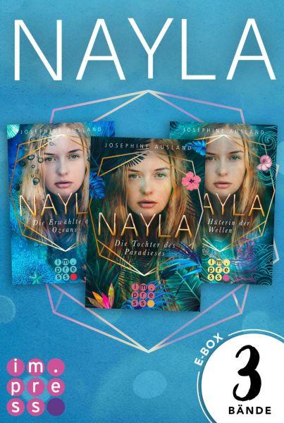 Nayla: Alle Bände der paradiesischen Trilogie in einer E-Box!
