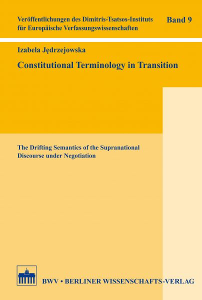 Constitutional Terminology in Transition