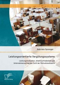 Leistungsorientierte Vergütungssysteme: Leistungsmotivation, Arbeitszufriedenheit und Unternehmenser