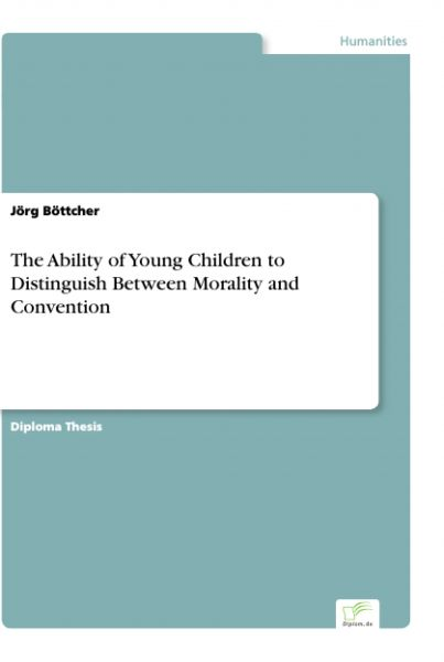 The Ability of Young Children to Distinguish Between Morality and Convention