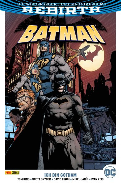 Batman PB - Rebirth, Band 1