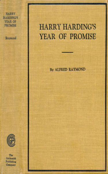 Harry Harding's Year of Promise