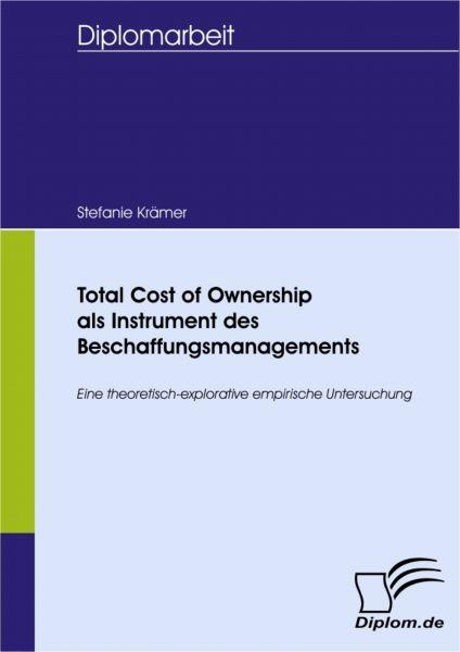Total Cost of Ownership als Instrument des Beschaffungsmanagements