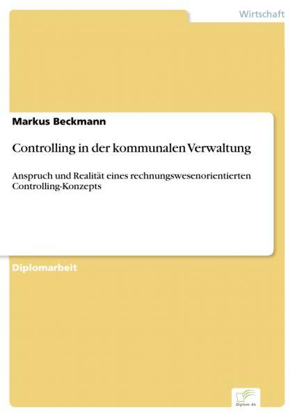 Controlling in der kommunalen Verwaltung