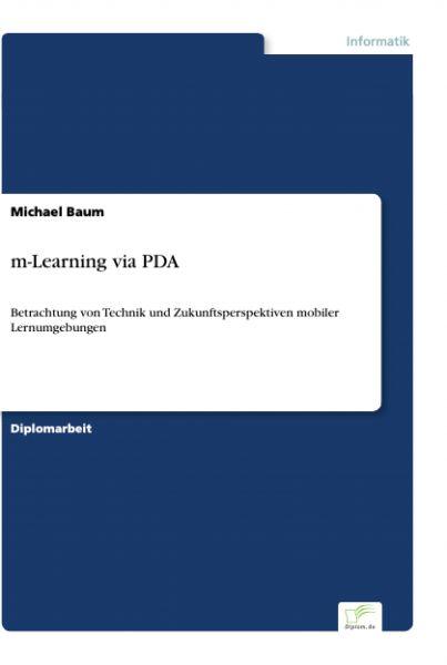 m-Learning via PDA