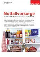 Zeitschrift Notfallvorsorge Heft 04/2014