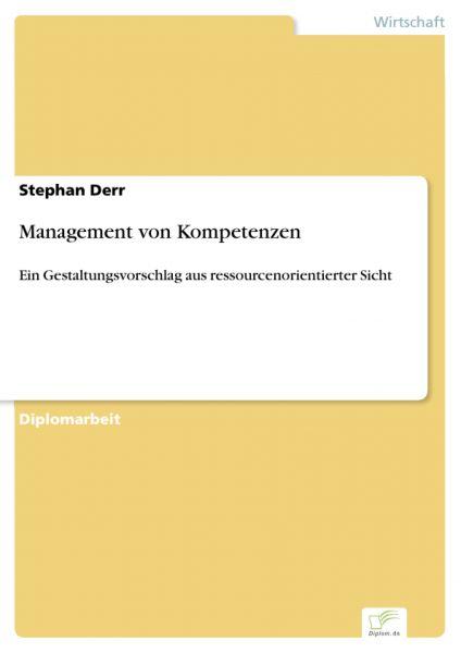 Management von Kompetenzen