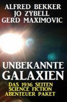 Unbekannte Galaxien - Das 1936 Seiten Science Fiction Abenteuer Paket