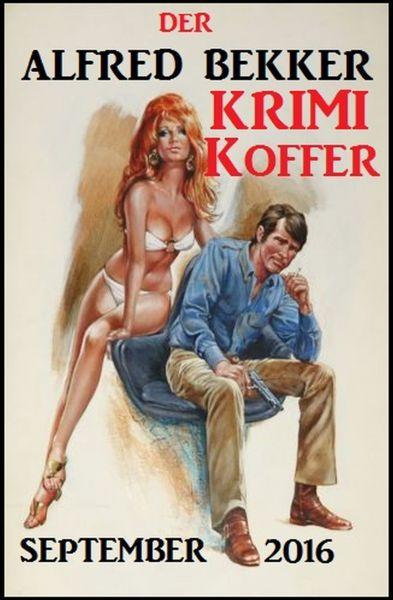 Der Alfred Bekker Krimi Koffer September 2016
