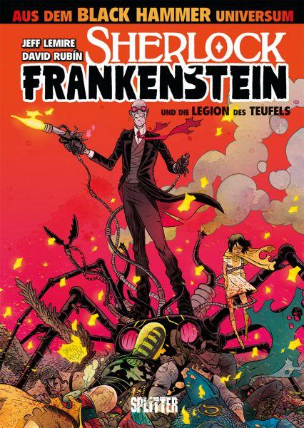Black Hammer: Sherlock Frankenstein und die Legion des Teufels