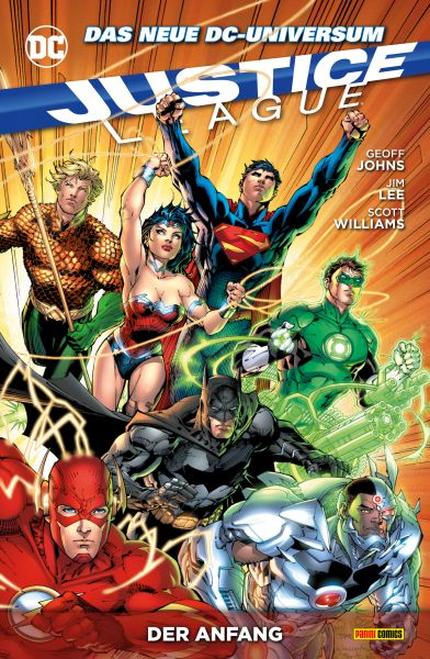 Justice League, Band 1 - Der Anfang