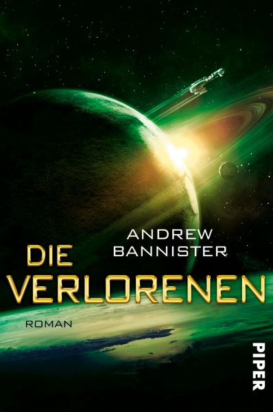 Cover Andrew Bannister: Die Verlorenen