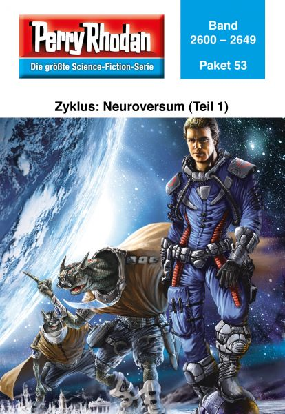 Perry Rhodan-Paket 53: Neuroversum (Teil 1)