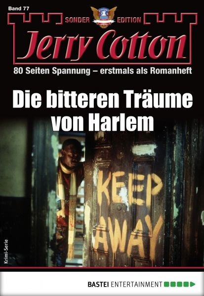 Jerry Cotton Sonder-Edition 77 - Krimi-Serie
