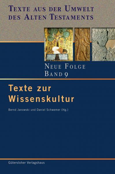 Texte zur Wissenskultur