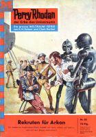 Perry Rhodan 84: Rekruten für Arkon (Heftroman)