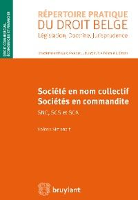 Sociétés en nom collectif et sociétés en commandite