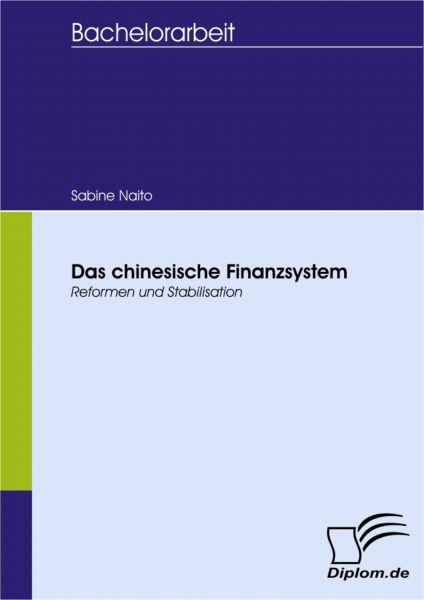Das chinesische Finanzsystem