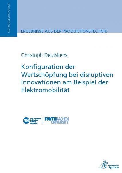 Konfiguration der Wertschöpfung bei disruptiven Innovationen am Beispiel der Elektromobilität