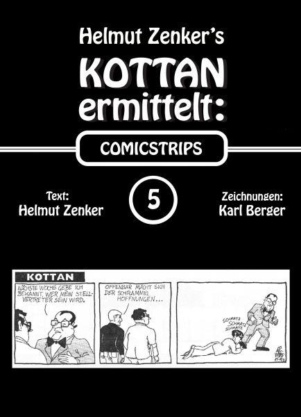 Kottan ermittelt: Comicstrips 5