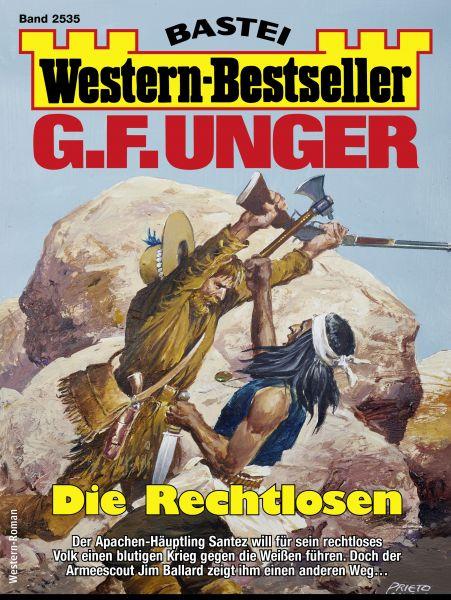 G. F. Unger Western-Bestseller 2535