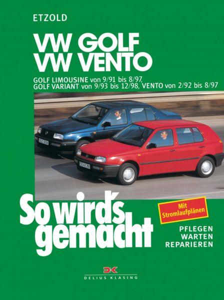 VW Golf III Limousine von 9/91 bis 8/97