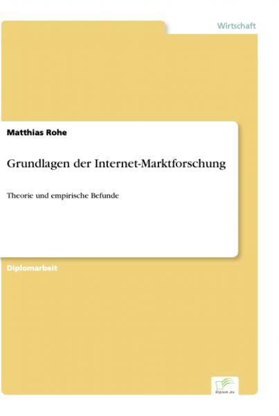 Grundlagen der Internet-Marktforschung
