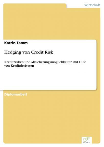 Hedging von Credit Risk