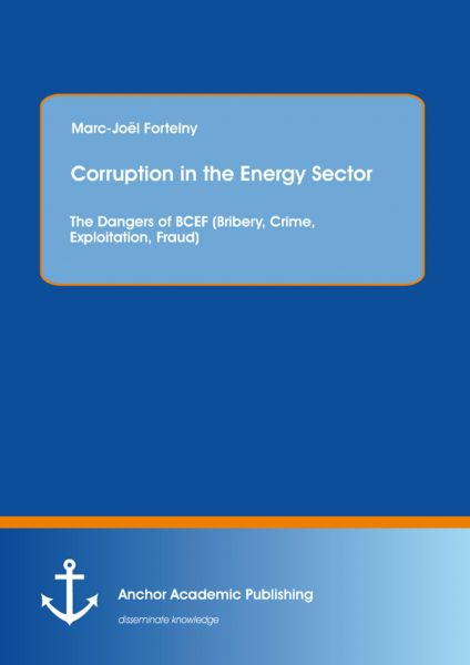 Corruption in the Energy Sector: The Dangers of BCEF (Bribery, Crime, Exploitation, Fraud)