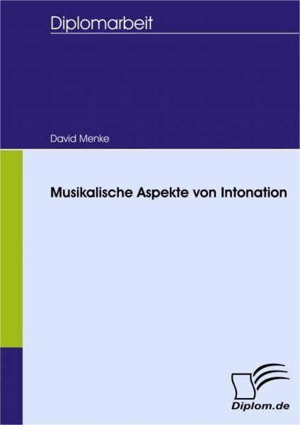 Musikalische Aspekte von Intonation