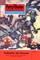 Perry Rhodan 215: Endstation des Grauens (Heftroman)