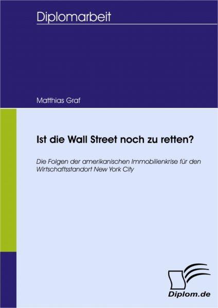 Ist die Wall Street noch zu retten?