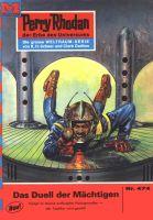 Perry Rhodan 474: Das Duell der Mächtigen (Heftroman)