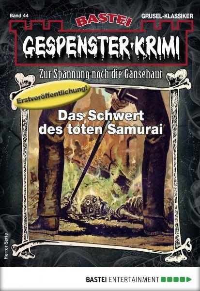 Gespenster-Krimi 44 - Horror-Serie