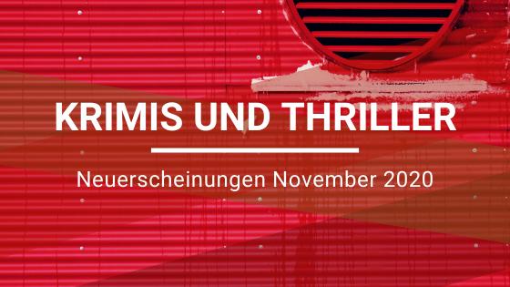 Krimis-Neuerscheinungen-November