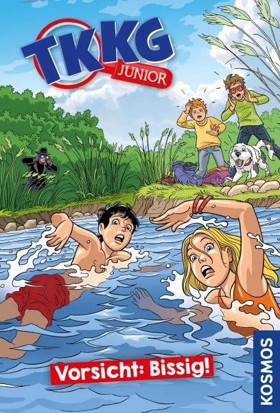 TKKG Junior, 2, Vorsicht: Bissig!
