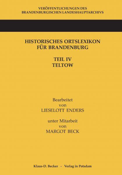 Historisches Ortslexikon für Brandenburg