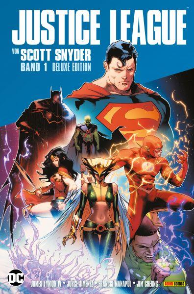 Justice League von Scott Snyder (Deluxe-Edition) -