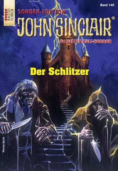 John Sinclair Sonder-Edition 145 - Horror-Serie