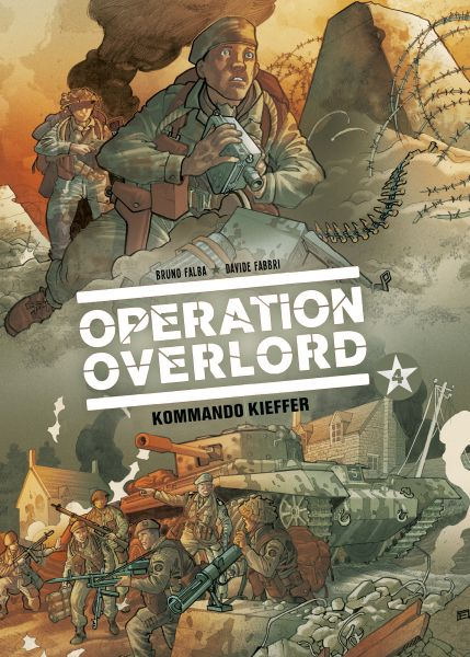 Operation Overlord, Band 4 - Kommando Kieffer