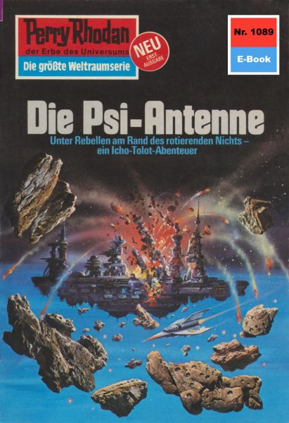Perry Rhodan 1089: Die Psi-Antenne