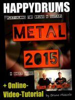 "Happydrums Play-Along Song ""Metal 2015"""