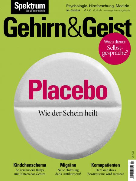 Gehirn&Geist 3/2018 Placebo