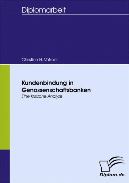 Kundenbindung in Genossenschaftsbanken